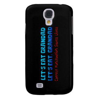 'Punctuation With Grandad' Galaxy S4 Case
