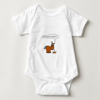 Punderful Apparel - I'm a little hoarse Baby Bodysuit