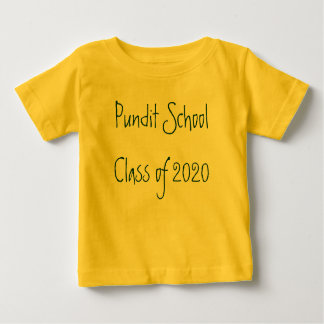 Pundit School Class of 2020 Baby T-Shirt