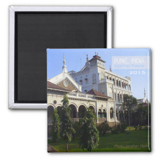 Pune India AgaKhan Palace Magnet Change Year