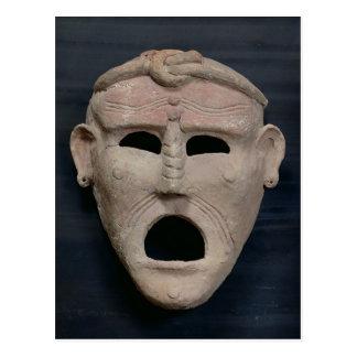 Punic charm mask, 3rd-2nd century BC Postcard
