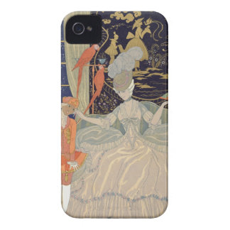 Punishing the Page (colour litho) iPhone 4 Cases