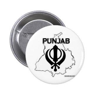 Punjab Series Pinback Buttons