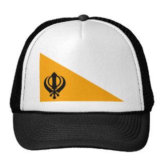 Punjab Sikh Holy Flag Sikhism Nishan Sahib Hats