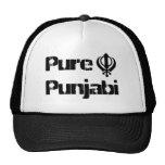 Punjabi Khanda Sikh Khalsa Design Merchandise Hat