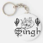 Punjabi Khanda Sikh Khalsa Merchandise Keychains
