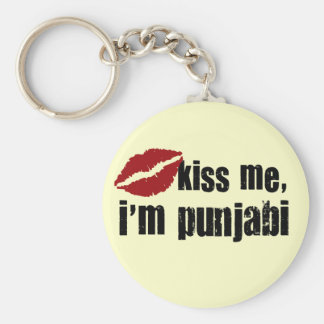 Punjabi Kiss Key Ring