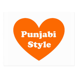 Punjabi Style Postcard