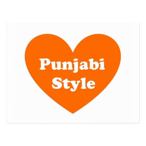 Punjabi Style Postcards