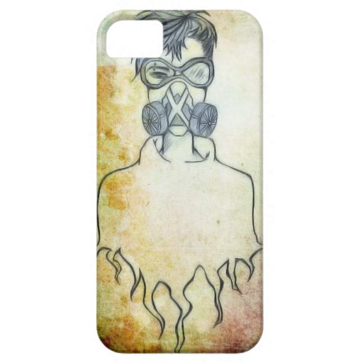 Punk Art Gas Mask iPhone 5/5S Cover