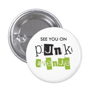 Punk Avenue Button