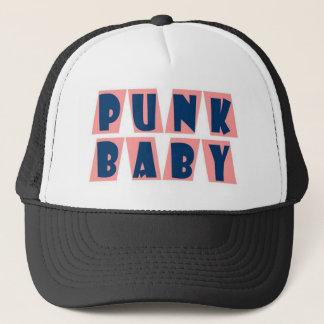 punk baby pink trucker hat