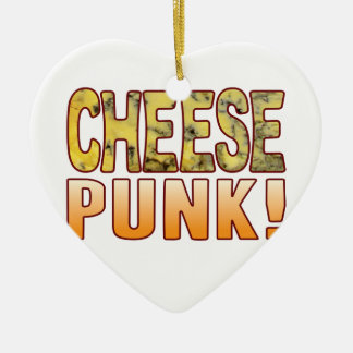 Punk Blue Cheese Christmas Ornament