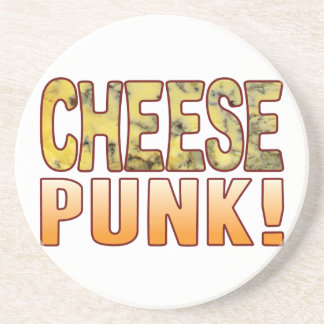 Punk Blue Cheese Coaster