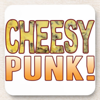 Punk Blue Cheesy Beverage Coasters