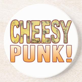 Punk Blue Cheesy Coasters