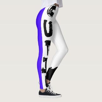 Punk Cutie, Concord Grape Leggings