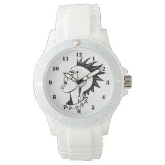 PUNK DESIGN (WITH NUMBERS) WATCHES