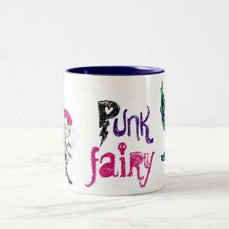 Punk Fairy Two-Tone Mug