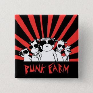 Punk Farm button