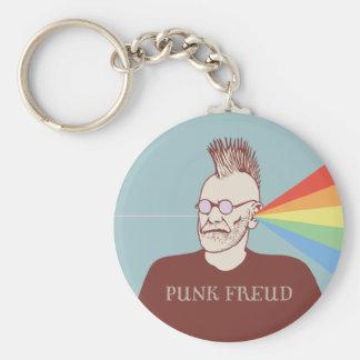 Punk Freud Key Ring