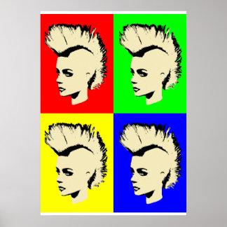 Punk Girl - Pop kind verse. I Poster