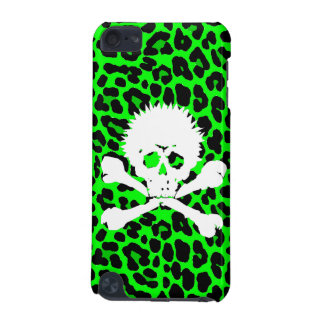 Punk Gothic Skull   Leopard iPod Touch 5G Case