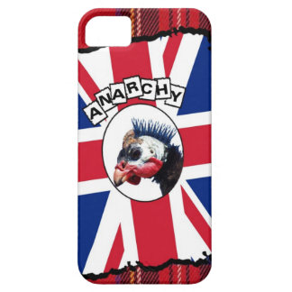 Punk guineafowl iPhone 5 cases