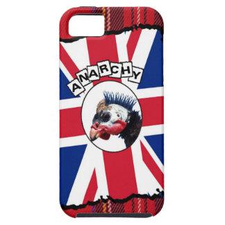Punk guineafowl iPhone 5 case