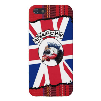 Punk guineafowl iPhone 5 cover