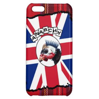 Punk guineafowl iPhone 5C cases