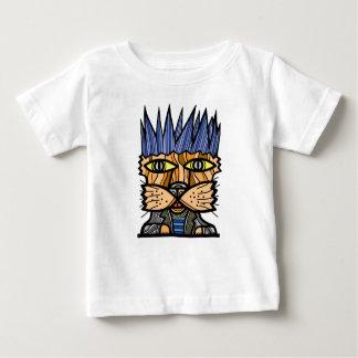 """""""Punk Kat"""" Baby Fine Jersey T-Shirt"""