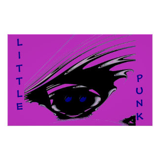 PUNK, LITTLE Girl Print