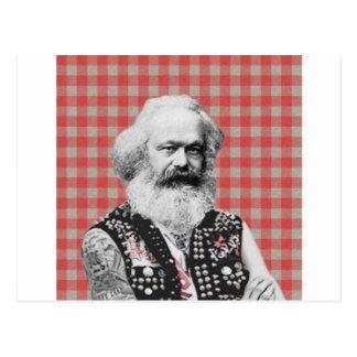 Punk Marx Postcard