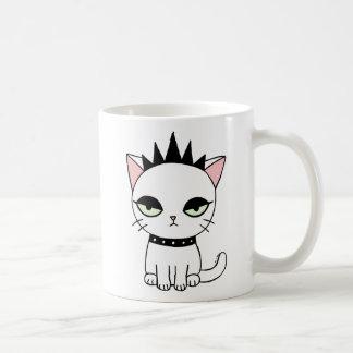 Punk mug Funny Punk Cat Mug Funny Cat Lover Mug