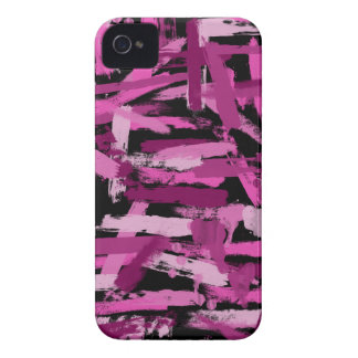 Punk Paint Stroke Camouflage iPhone 4 Case-Mate Cases