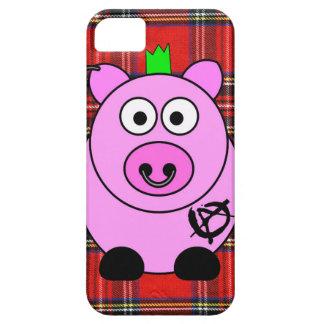 Punk Pig Tartan iPhone 5/5s Case