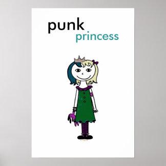 Punk Princess (blonde hair) Poster
