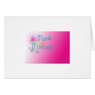 Punk Princess Greeting Card