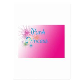Punk Princess Postcard