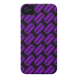 Punk Razor Blades Pattern Case-Mate iPhone 4 Cases