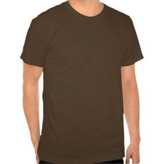 punk : retro T-shirt brown