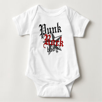 Punk Rock Baby Baby Bodysuit