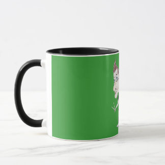 Punk Rock Band Funny Caricature Drawing Mug