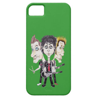 Punk Rock Band Funny Caricature Drawing Phone Case iPhone 5 Cover