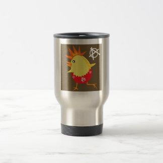 Punk Rock Chicken Coffee Mug