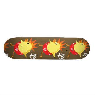 Punk Rock Chicken Skateboard Decks