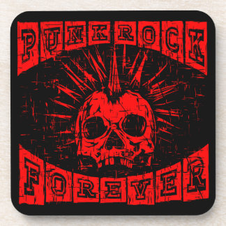 punk rock forever coaster