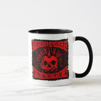 punk rock forever mug