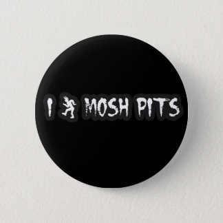 Punk Rock Mosh pit guys girls punk music slam pit 6 Cm Round Badge